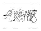 Chats musiciens