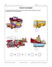 Classer et compter - Transport 2