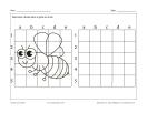 Dessine une abeille