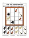 Sudoku d'instruments de musique