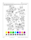 Table de 7 (multiplications et coloriage)