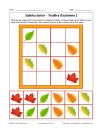 Sudoku de feuilles d'automne 2