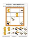 Sudoku d'animaux d'Amérique du Sud