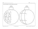 Dessine des boules de Noël 1