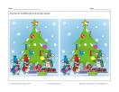 Les souris décorent le sapin de Noël