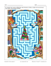 Labyrinthe Noël des animaux 2