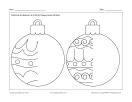 Dessine des boules de Noël 2
