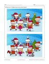 Noël dans la neige