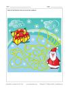 Labyrinthe Les cadeaux du Père Noël