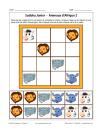 Sudoku des animaux d'Afrique 2