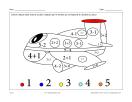 Avion (math et coloriage)