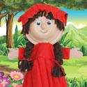 Marionnette Jeune Fille