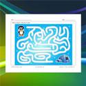 Labyrinthe pingouin et igloo