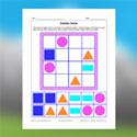 Sudoku de formes géométriques 2D