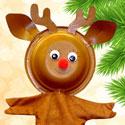 Marionnette Rudolph le renne