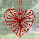 Coeur en ficelle