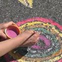 Recette de peinture à trottoir