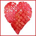 Carte avec un coeur