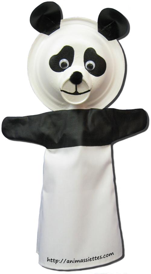 Pourquoi les pandas mangent du bambou animassiettes - Comment faire une marionnette ...