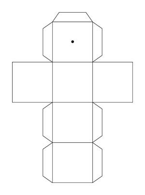 Comment faire un cube en papier | Animassiettes
