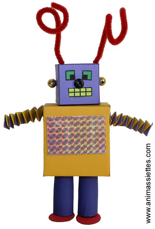 Robot en carton