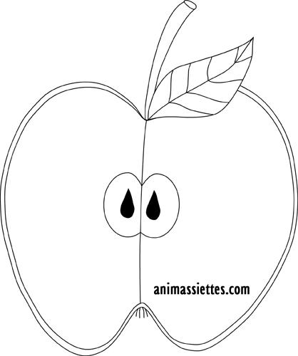 Peindre avec des pommes article animassiettes - Couper une video en deux ...