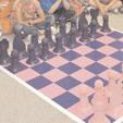 Un jeu d'échecs hors normes
