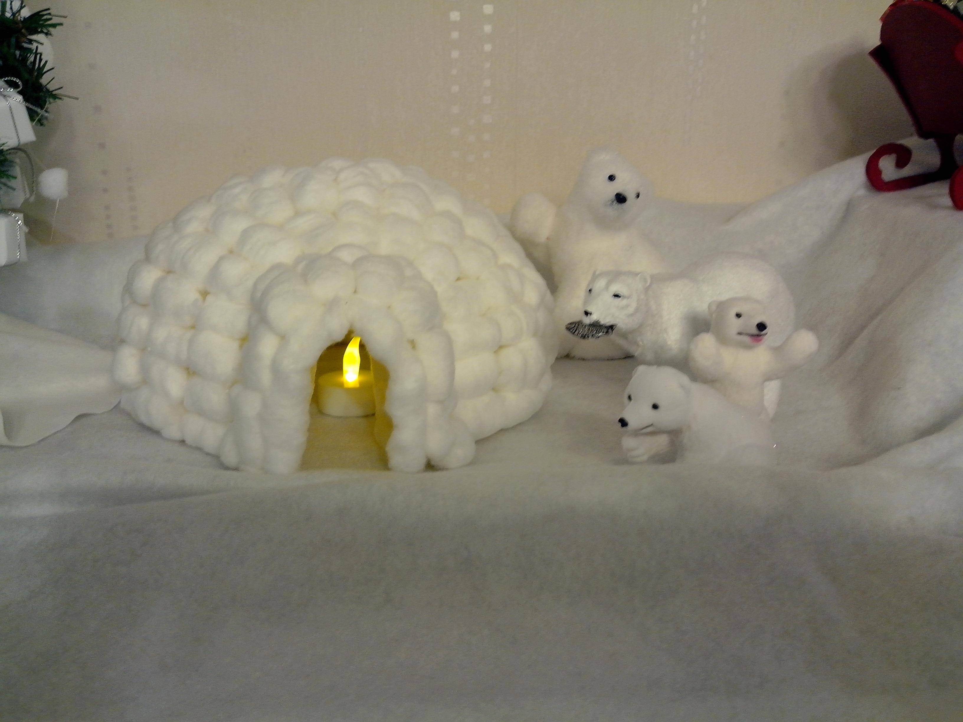 igloo en nouilles magiques playmais tuto gratuit animassiettes. Black Bedroom Furniture Sets. Home Design Ideas