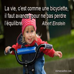 La vie, c'est comme une bicyclette