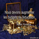 Nous devons augmenter