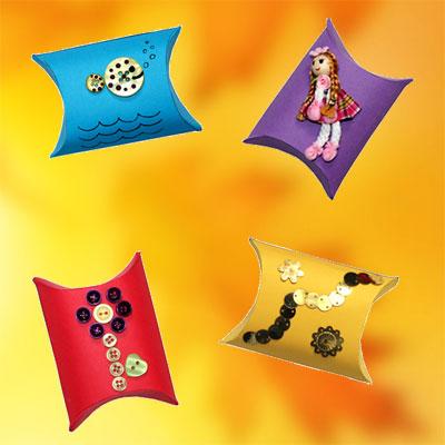Des boîtes cadeau décorées de toutes les façons