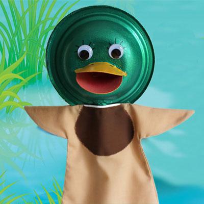 Marionnette canard animassiettes - Masque canard a imprimer ...