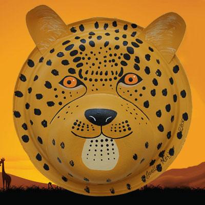 Masques De Gu 233 Pard Jaguar Et L 233 Opard Animassiettes