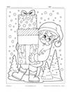 Père Noël avec cadeaux
