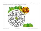 Labyrinthe Escargot et laitue