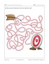 Labyrinthe Flèche et coeur