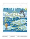 Labyrinthe Manchot et crème glacée