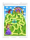 Labyrinthe Princesse et dragon
