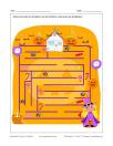 Labyrinthe Sorcière et bonbons