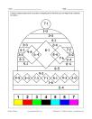 Bonnet (Tuque) (math et coloriage)