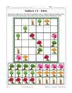 Sudoku 6x6 d'arbres