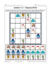Sudoku 6x6 de chapeaux d'hiver