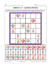 Sudoku 6x6 de lanternes chinoises