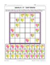Sudoku 6x6 de Saint-Valentin