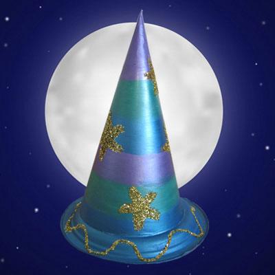Chapeau de sorcier ou sorcière