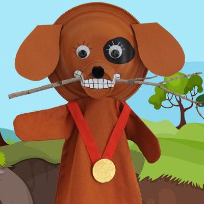 Marionnette Wouffie le chien