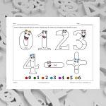 Chiffres 1 (math et coloriage)