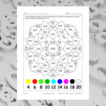 Table de 2 (multiplications et coloriage)