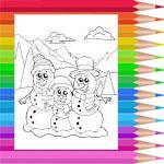 Famille de neige