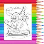 Père Noël en traineau